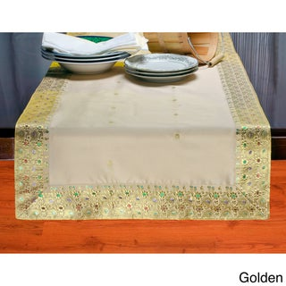 Hand Crafted 14-Inch x 84-Inch Sari Table Runner (India)