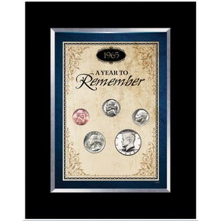 American Coin Treasures Year To Remember Coin Desk Frame (1965-2015)