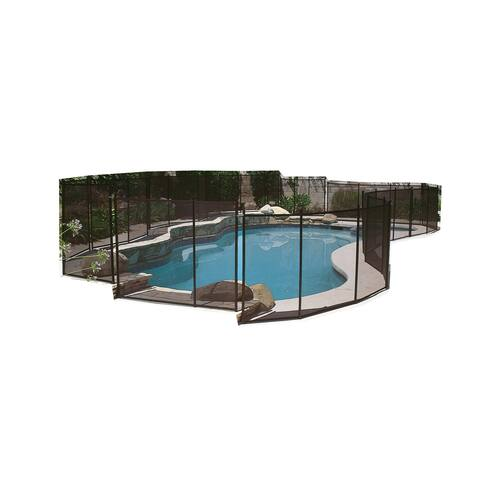 12-Foot Wide Safety Fence for In-Ground Swimming Pools