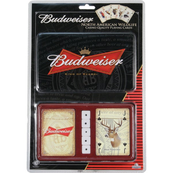Shop River's Edge 'Budweiser' 2-Pack Playing Cards And