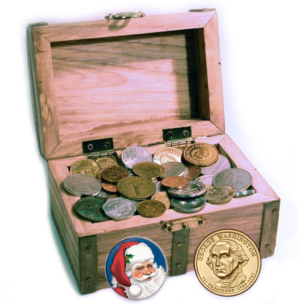 American Coin Treasures St. Nick's Treasure Chest