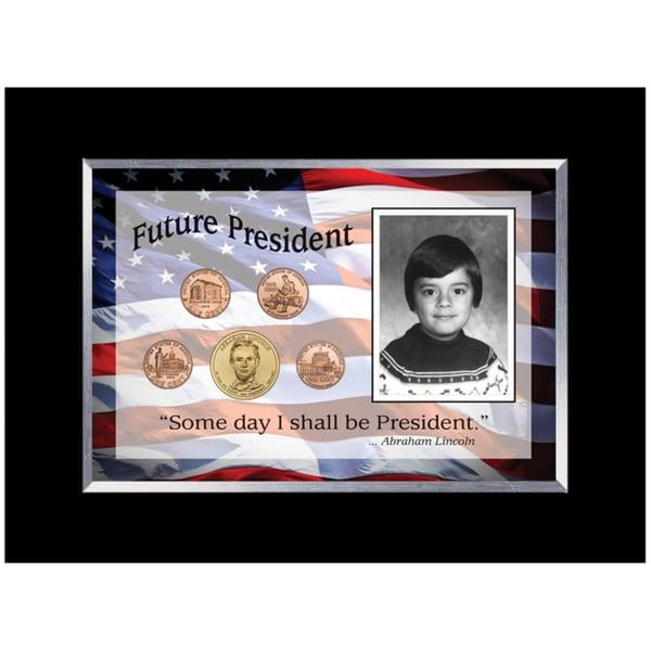 American Coin Treasures Future President 5-coin Frame