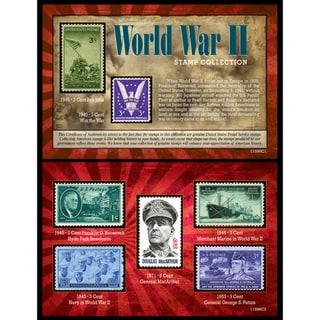 American Coin Treasures American Coin Treasures World War II 7-piece U.S. Stamp Collection