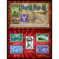 American Coin Treasures American Coin Treasures World War II 7-piece U.S. Stamp Collection