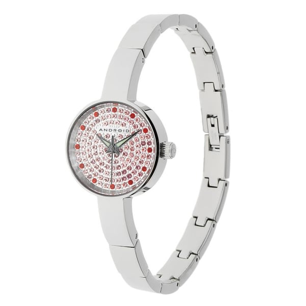 Android 'Mini Star' Pink Crystal-accented Watch