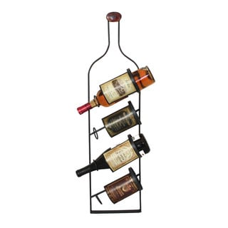 Casa Cortes Four Bottle Wine Rack