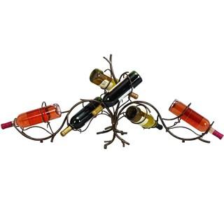 Casa Cortes Vine Metal 6-bottle Wine Rack