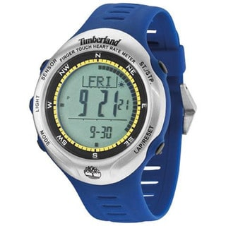 Timberland Men's 'Washington Summit' Blue Digital Watch