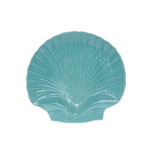 Certified International Le Mer 3D Scallop Platter