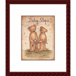 'Baby Steps' Framed Art Print