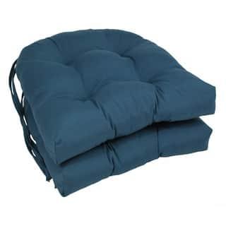 Blazing Needles 16-inch U-Shaped Tufted Twill Dining Chair Cushions (Set of 2)|https://ak1.ostkcdn.com/images/products/7856944/P15242961.jpg?impolicy=medium