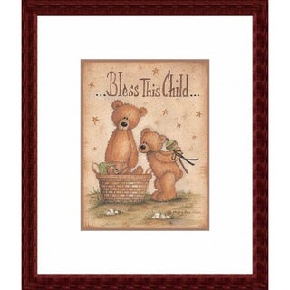 'Bless This Child' Framed Art Print