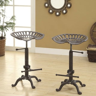 Brady Adjustable Farm Stool & Metal Bar u0026 Counter Stools - Shop The Best Deals for Nov 2017 ... islam-shia.org