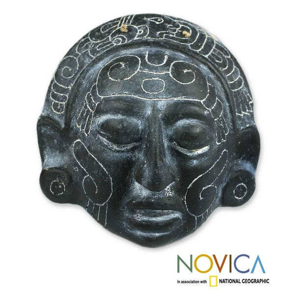 Ceramic 'Maya Night Voyage' Mask (El Salvador)