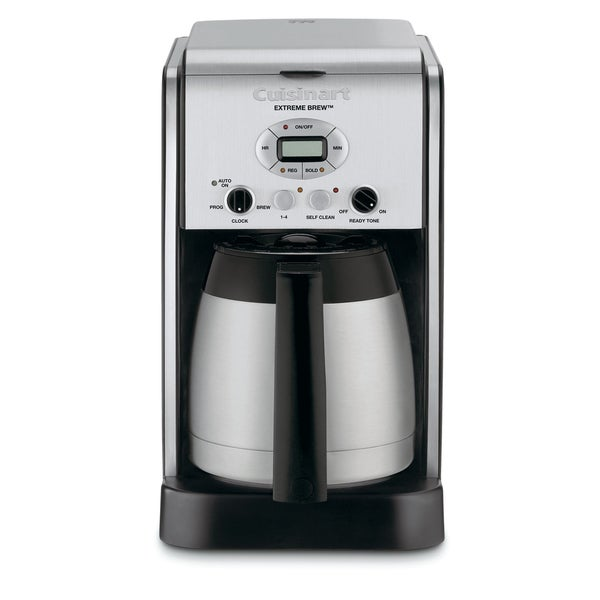 Cuisinart DCC-2750FR Silver 10-cup Extreme Brew Thermal Programmable Coffeemaker (Refurbished)
