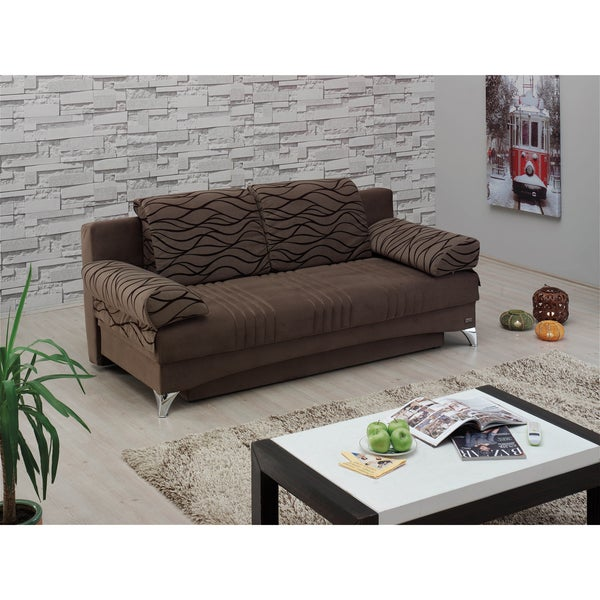 Daisy Dark Brown Sofabed