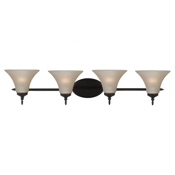Sea Gull Lighting Burnt Sierra 4-light Fixture