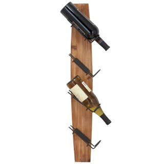 Casa Cortes Fresno Rustic Wall-mount 4 Wine Rack