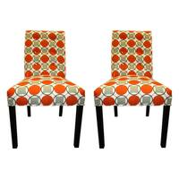 Halo Grani 6-button Tufted Dining Chair (Set of 2) - 21 inches w. x 26 inches d. x 39 inches h