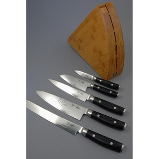 Ginkgo Yaxell Ran 6-piece Knife Block Set