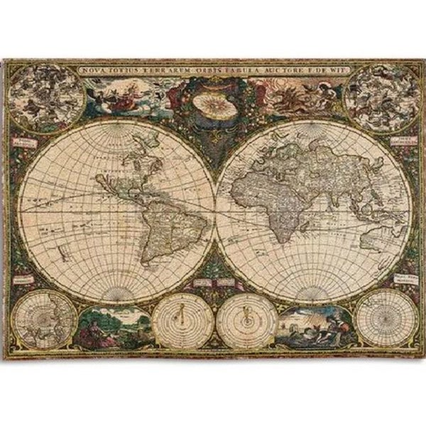 Shop Old World Map Wall Tapestry On Sale Free Shipping