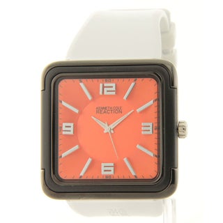 Kenneth Cole Reaction Men's Orange/ White Watch