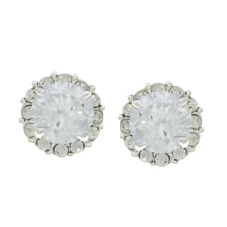 City by City City Style Silvertone Cubic Zirconia and Crystal Stud Earrings|https://ak1.ostkcdn.com/images/products/7857595/7857595/City-Style-Silvertone-Cubic-Zirconia-and-Crystal-Stud-Earrings-P15243560.jpg?impolicy=medium