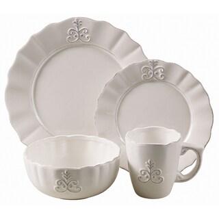 American Atelier Bianca Fleur 16-piece Dinnerware Set
