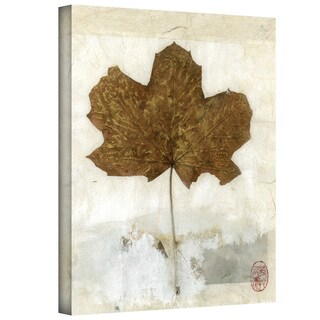 Elena Ray 'Golden Leaf' Gallery-Wrapped Canvas