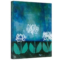 Elena Ray 'Lotus Blossoms' Gallery-Wrapped Canvas - Multi