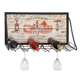 Chateau Wine Enthusiast Hanging Metal 6-bottle Wine Holder Rack|https://ak1.ostkcdn.com/images/products/7857633/Chateau-Wine-Enthusiast-Hanging-Metal-6-bottle-Wine-Holder-Rack-P15243581.jpg?impolicy=medium