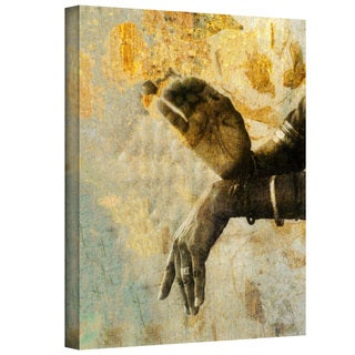Elena Ray 'Sacred Mudra' Gallery-Wrapped Canvas