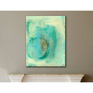Elena Ray 'Teal Enso' Gallery-Wrapped Canvas