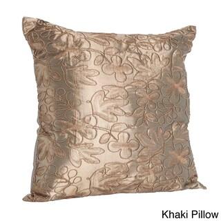 "Cord Embroidery Table Linens (Option: Khaki - 16"" x 16"")"