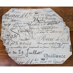 Document Fossil Placemats (Set of 4)