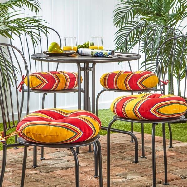 Fantastic Shop Havenside Home Elminton 15 Inch Round Outdoor Stripe Pdpeps Interior Chair Design Pdpepsorg