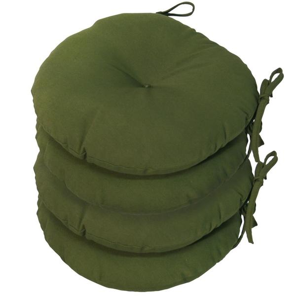hunter green outdoor bistro chair cushions set of 4 15243856