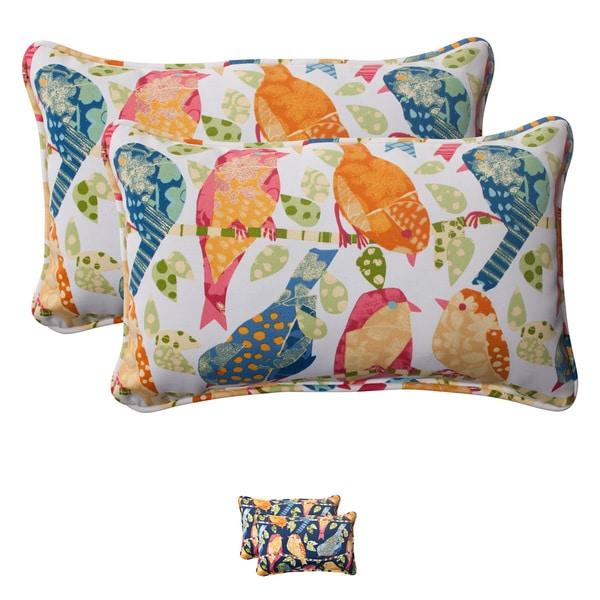 Pillow Perfect Rectangular Throw Pillows (2)