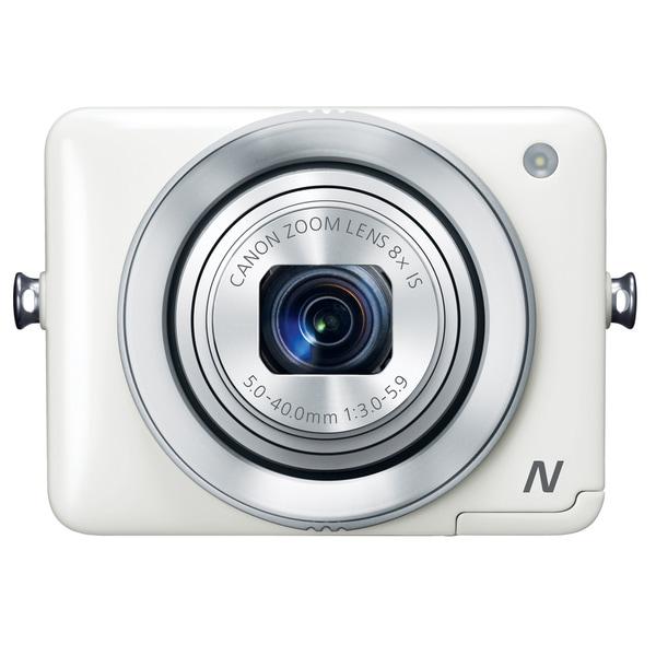 Canon PowerShot N 12.1MP White Digital Camera