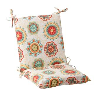 Pillow Perfect Outdoor Fairington Aqua Squared Chair Cushion