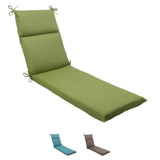 Pillow Perfect Outdoor Forsyth Chaise Lounge Cushion