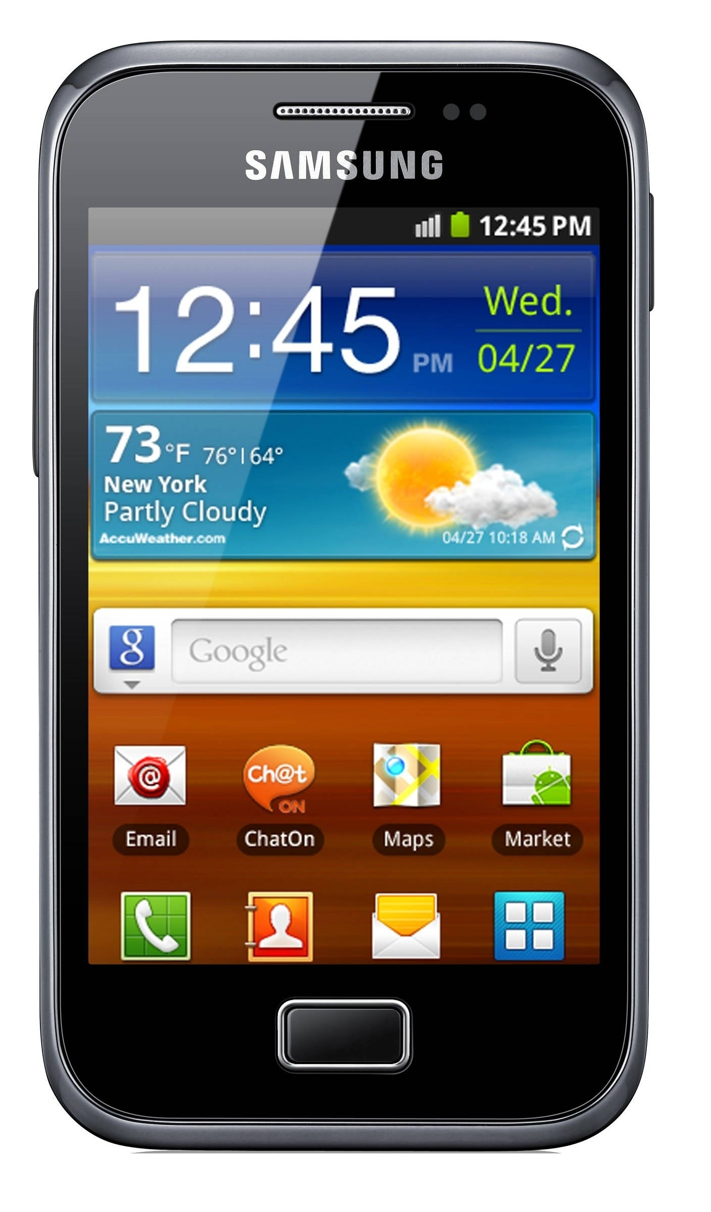 Samsung Galaxy Ace Plus S7500 GSM Unlocked Android Cell Phone