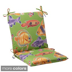 Pillow Perfect Outdoor Kiley Squared Chair Cushion
