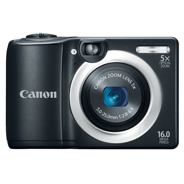 Canon PowerShot A1400 16MP Black Digital Camera