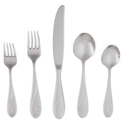 Yamazaki 'Platinum Wave' 5-piece Place Setting Flatware Set