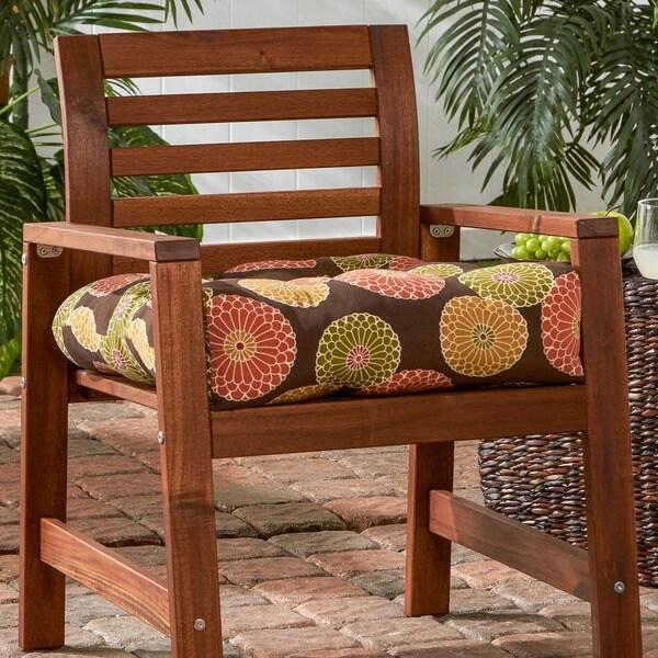 Havenside Home Eaglehardt Fl Medallion 20 Inch Outdoor Chair Cushion