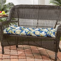 Porch & Den Rosewood Poquito 17-inch x 44-inch Outdoor Swing/Bench Cushion