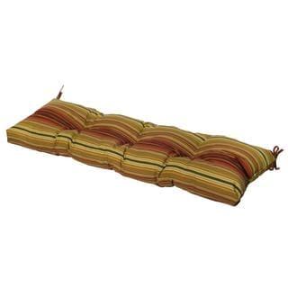 51-inch Outdoor Kinnabari Stripe Bench Cushion