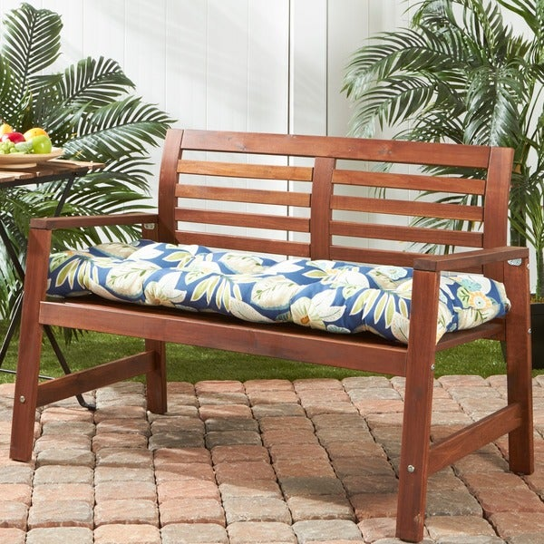 Greendale Home Fashions Outdoor Marlow Bench Cushion 18w