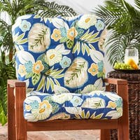 Greendale Home Fashions Outdoor Marlow Seat/Back Chair Cushion - 21w x 42l